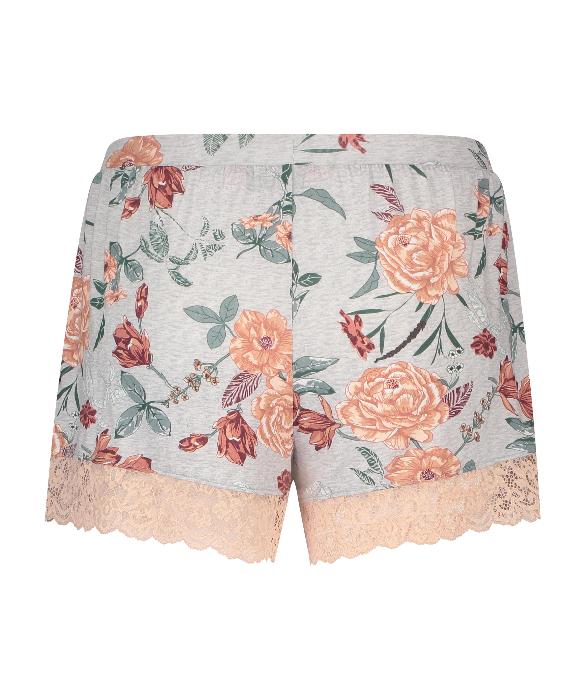 Jersey Shorts, Grey, main