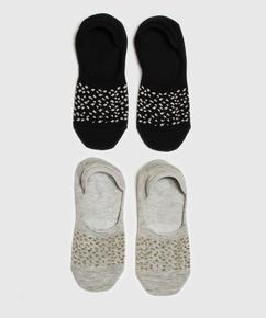 2 Pairs Of Socks, Black