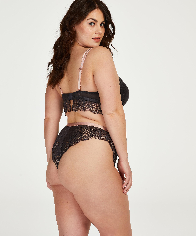 Jennifer high-cut Brazilian Curvy, Grey, main
