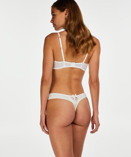 Cardi thong, White