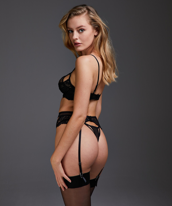 Anna suspenders, Black, main