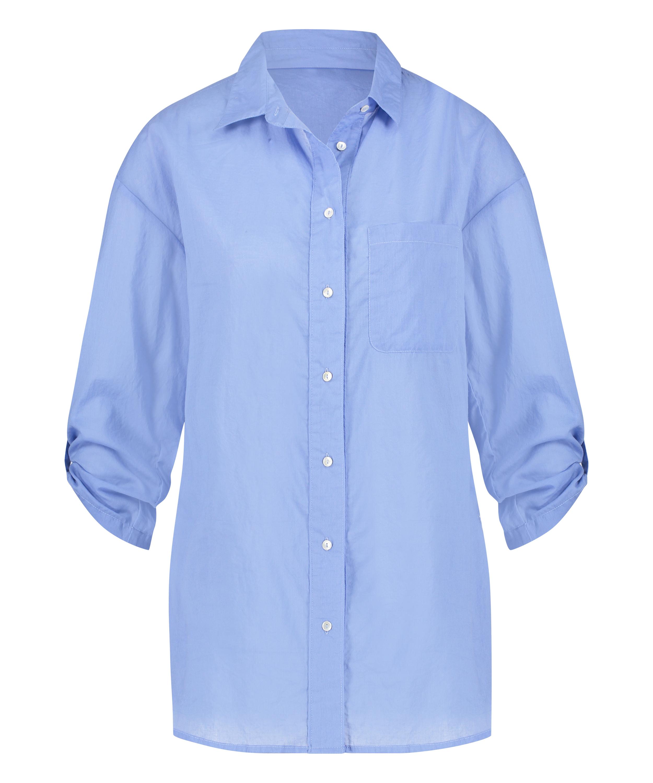 Beach blouse, Blue, main
