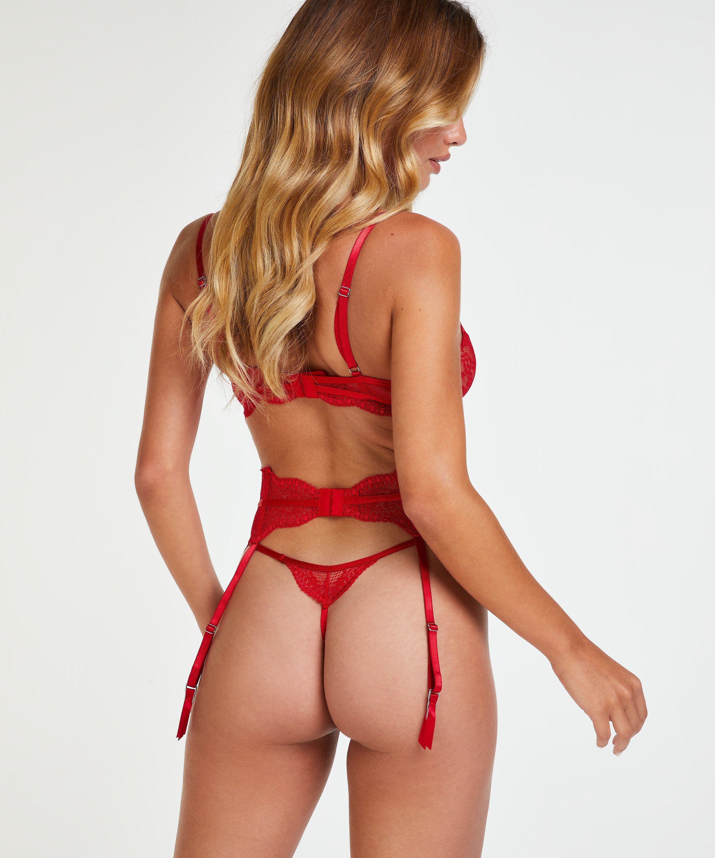 Isabelle Suspenders, Red, main