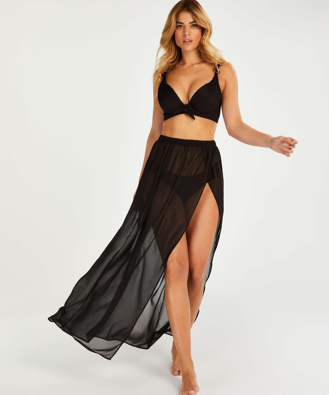 Galibi I AM Danielle beach skirt, Black, main