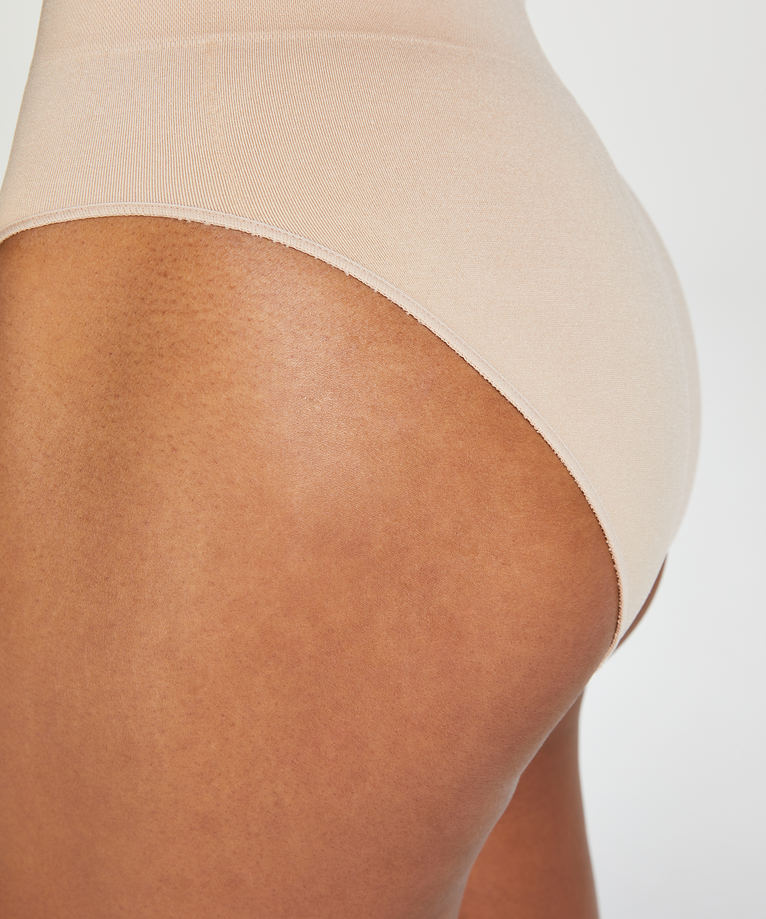 Firming high knickers - Level 2, Beige, main