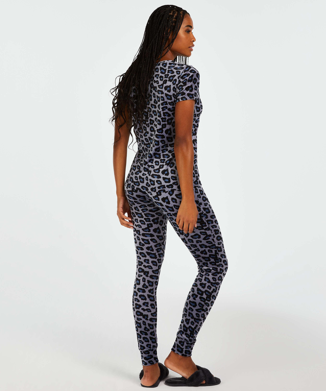 Velvet leggings, Grey, main