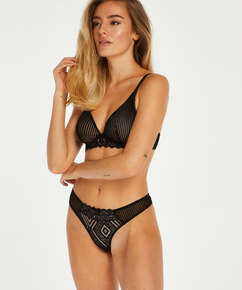 Lenix non-padded underwired bra I AM Danielle, Black