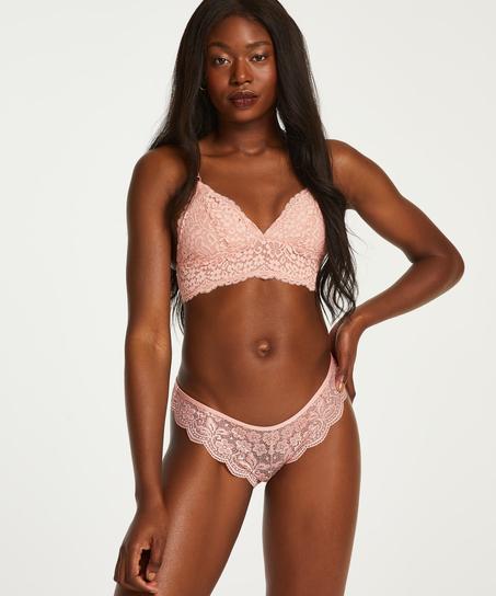 High leg Brazilian, Pink