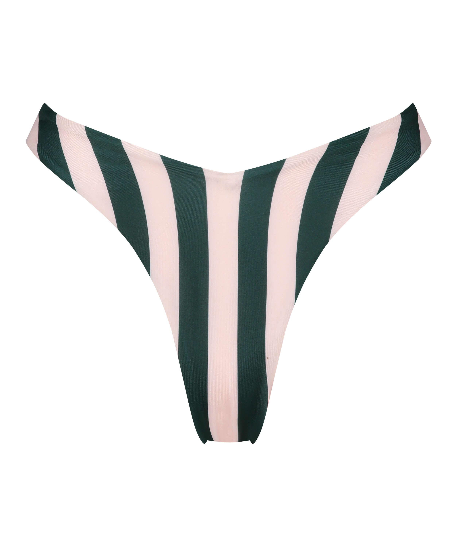 Santa Rosa high-cut bikini bottom, Green, main