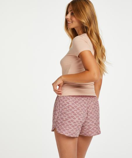 Pyjama shorts, Pink