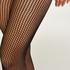 Fishnet Lacey Tights Rebecca Mir, Black
