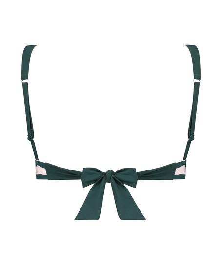 Pinewood triangle bikini top, Green