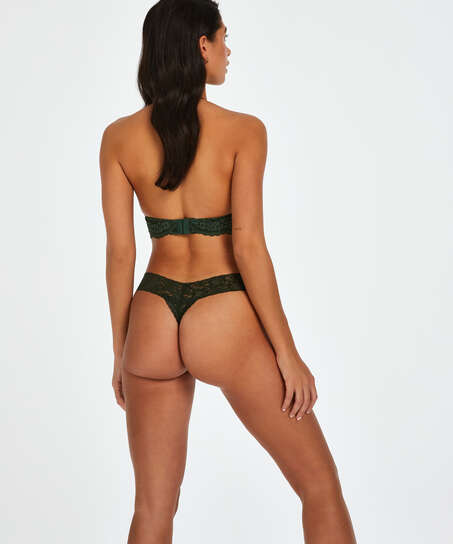 Extra Low V-Thong, Green