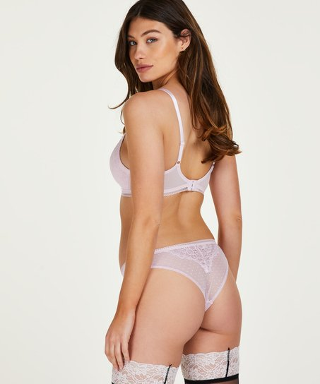 Bessie padded push-up bra without underwire, Pink
