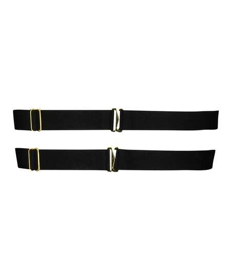 Private Hold Up Suspenders, Black