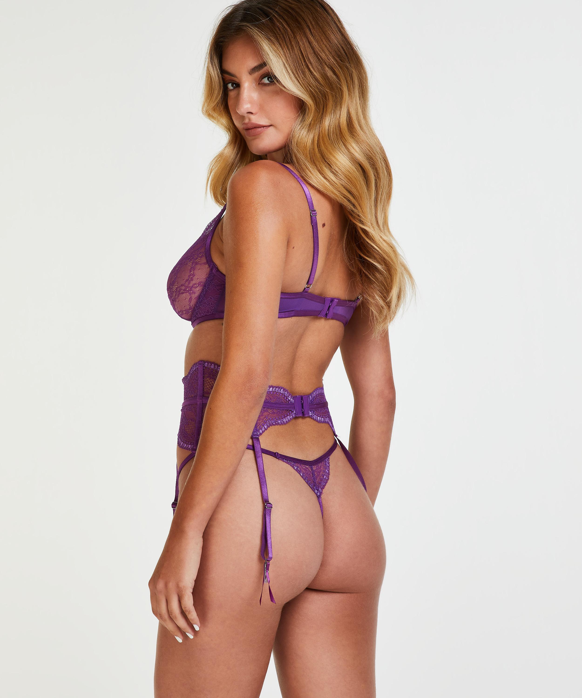 Isabelle Suspenders, Purple, main