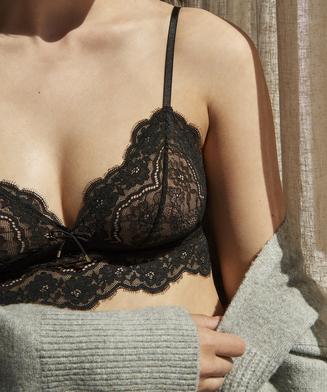 Reyna Bralette, Black