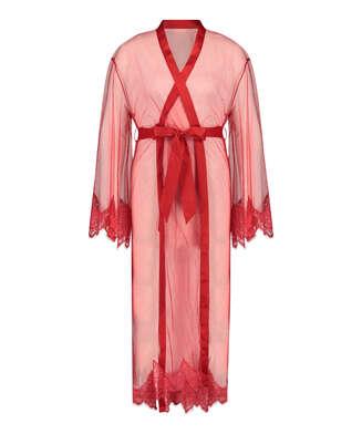 Long Cravache Kimono, Red