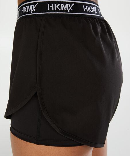 HUNKEM/ÖLLER HKMX Sport-Shorts Schwarz M