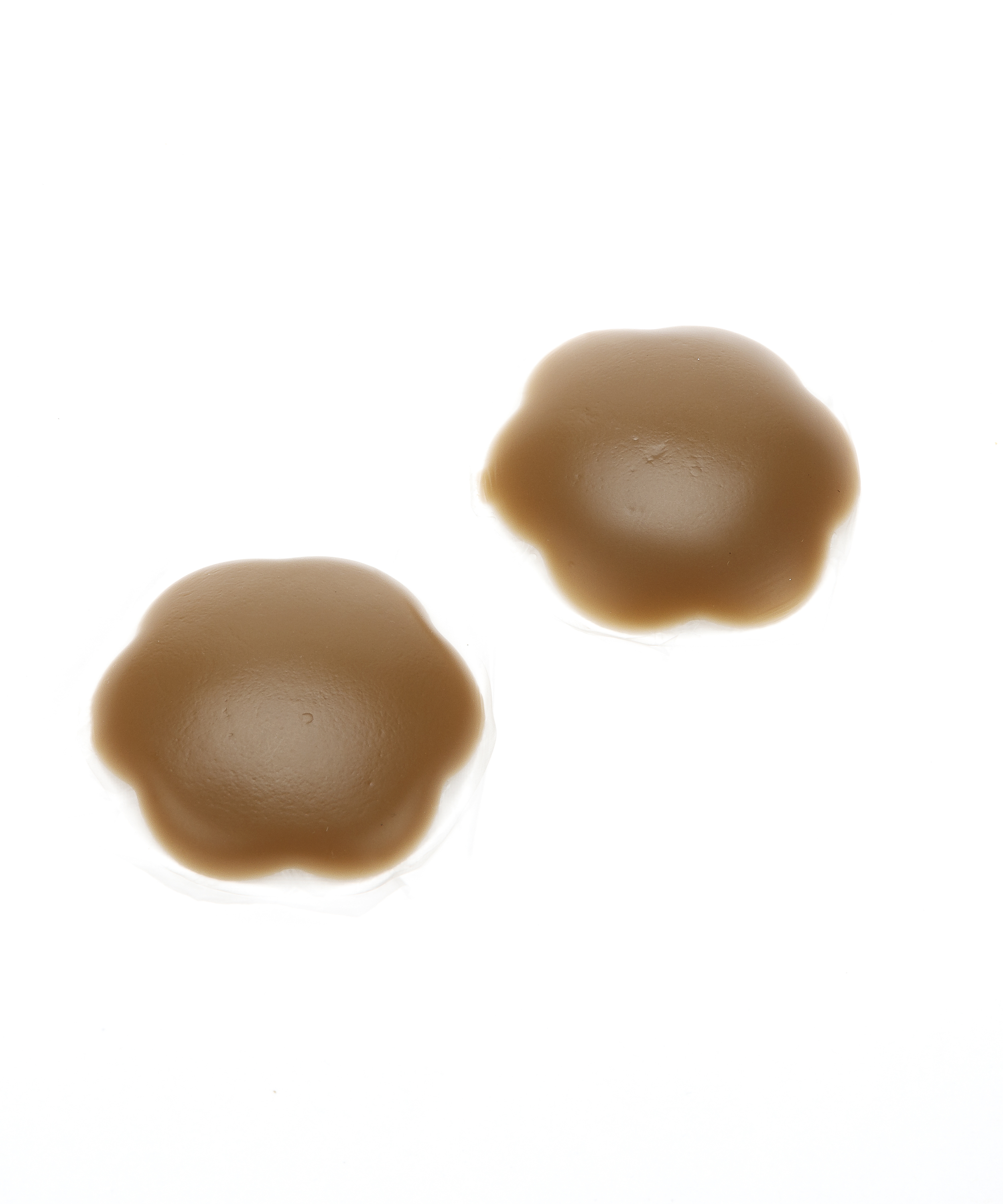 Silicone nipple covers, Brown, main