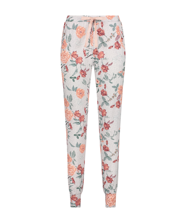 Tall Jersey Sage pyjama bottoms, Grey, main