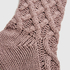Knit Socks, Purple