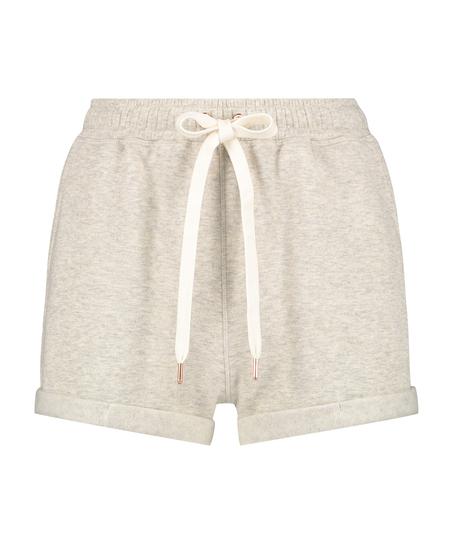 Sweat Brushed shorts, Beige