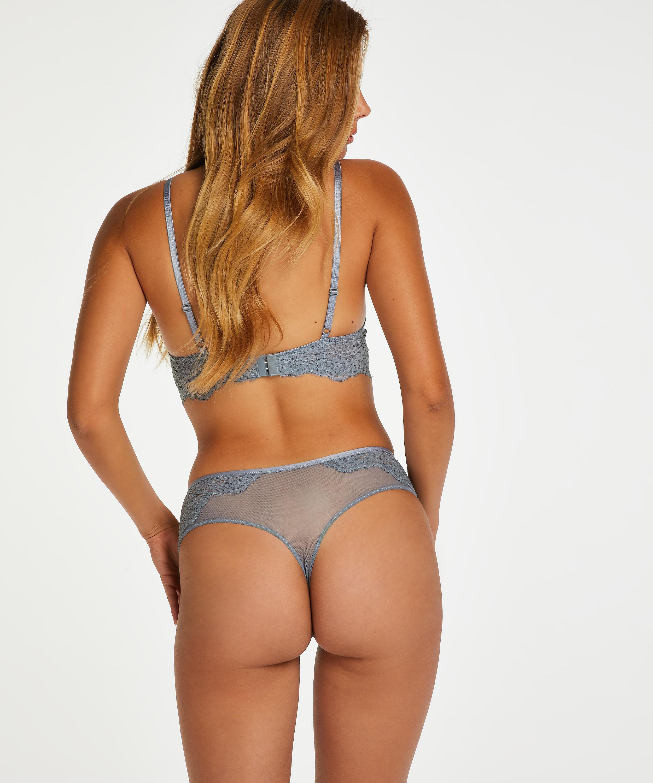 Chloe Thong Boxers, Grey, main