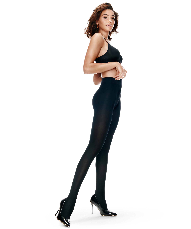 Compression 40 denier tights, Black, main