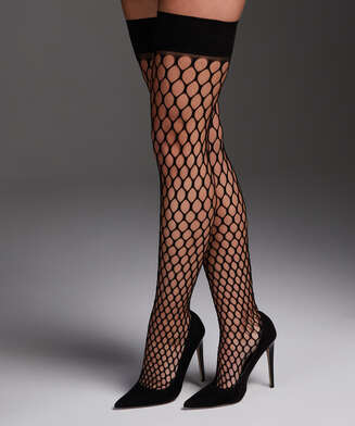 Hold-ups Fishnet Private Big Sexy, Black