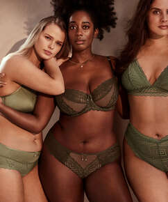 Rabella Brazilian knickers I AM Danielle, Green