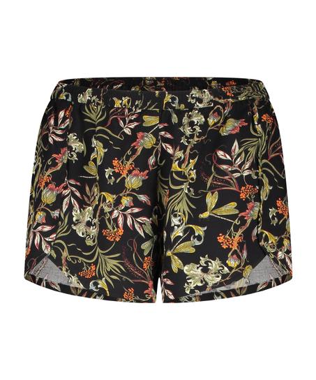 Pyjama shorts, Black