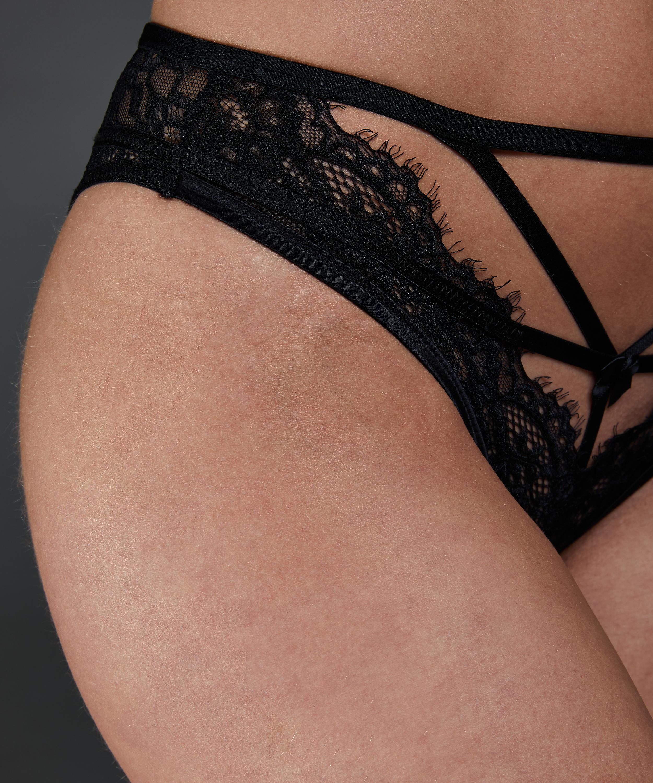 Eve Brazilian with open crotch, Black, main