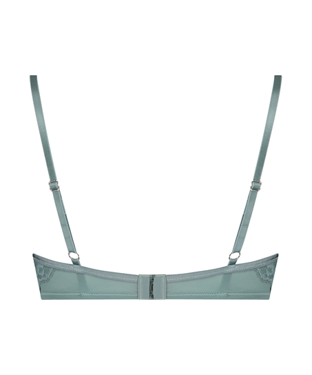 Sierra padded underwired bra, Green