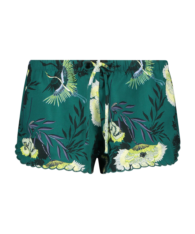 Pyjama shorts, Grey, main