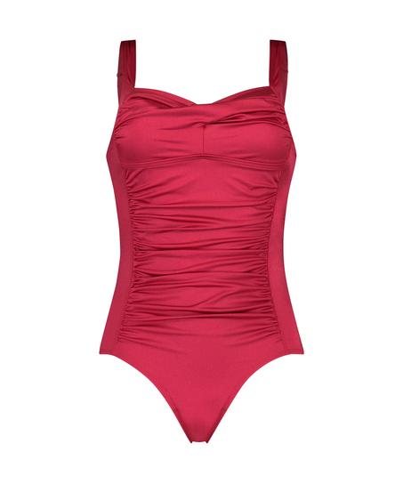 Sunset Dreams Ocean swimsuit, Red