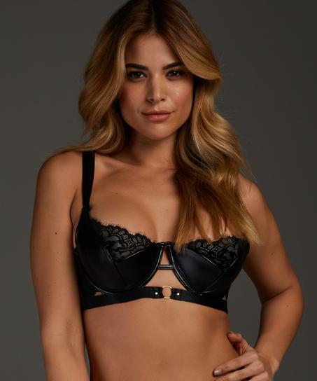 Dolly padded underwired bra, Black