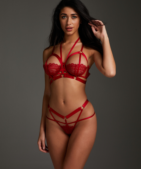 Jacky Non-Padded Underwired Bra, Red