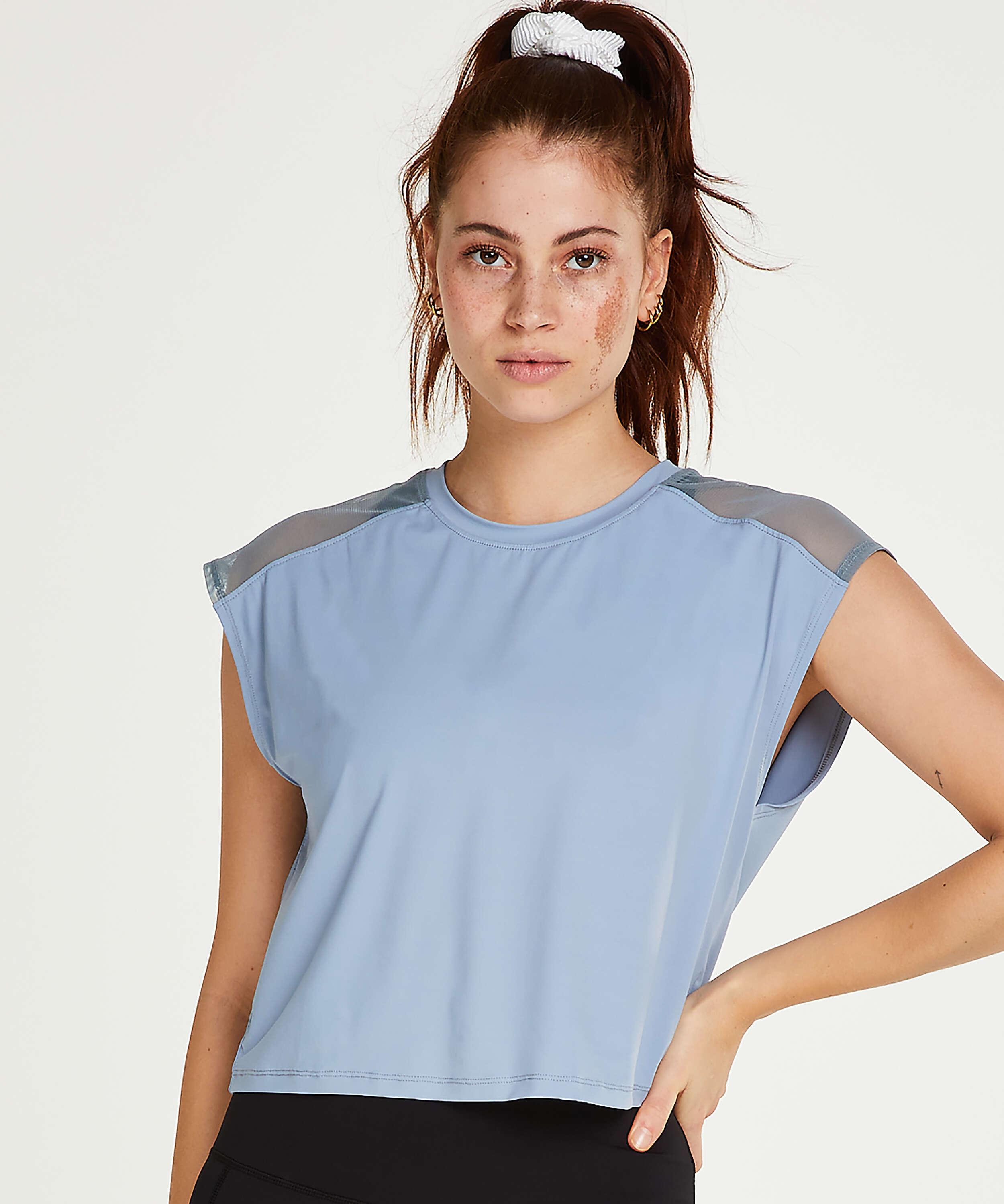 HKMX Sport t-shirt Joya, Blue, main