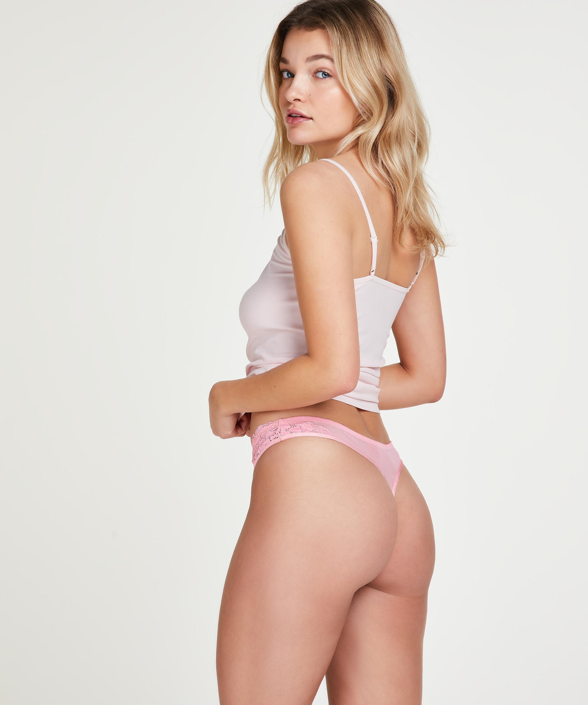 Briana thong, Pink, main