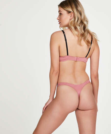 Secret Lace Thong, Pink