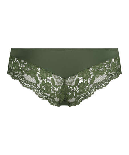Valencia Brazilian Shorts, Green