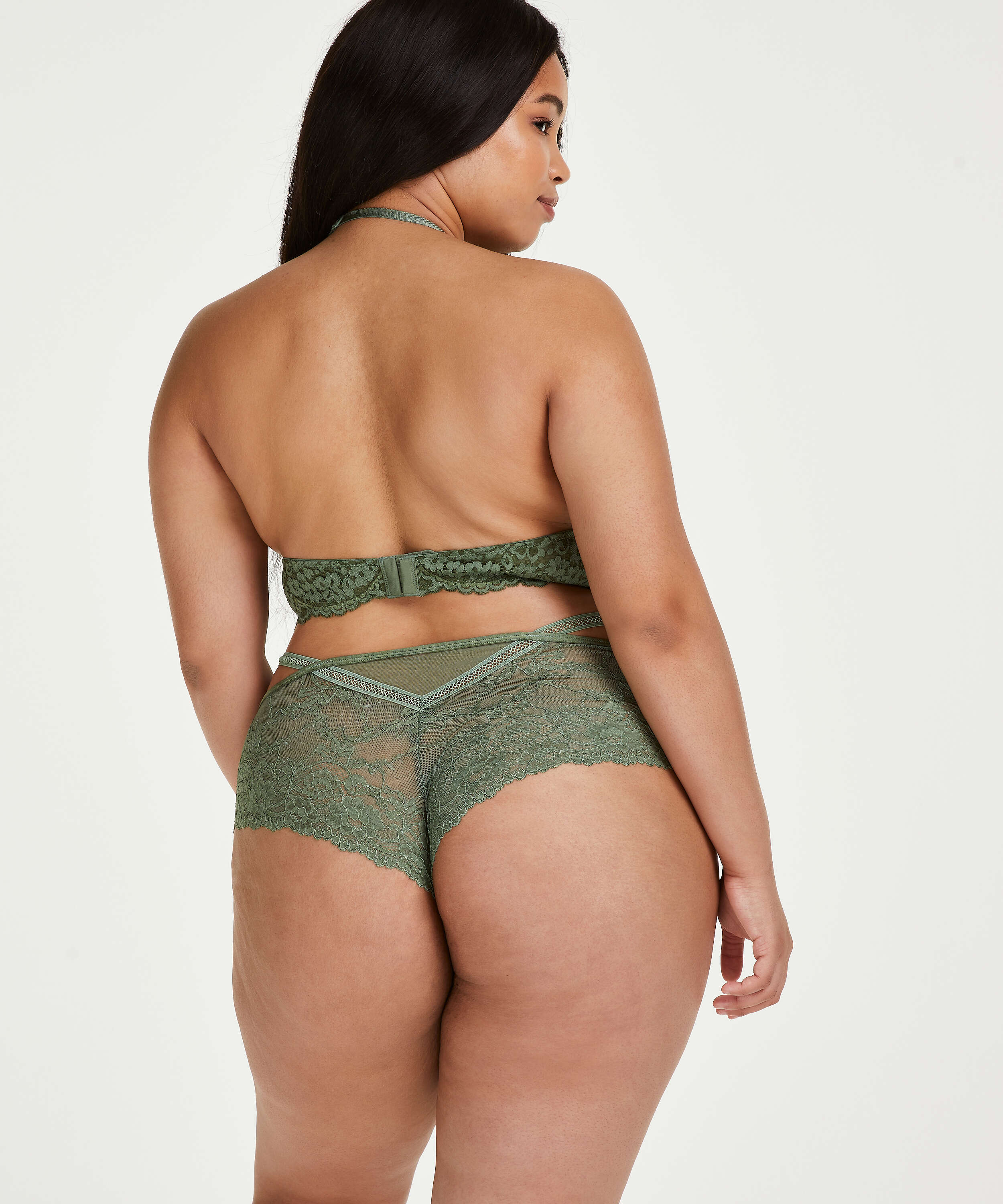 Kami Brazilian Curvy, Green, main