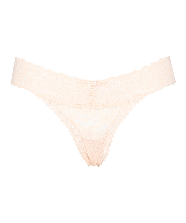 Extra Low V-Thong, Pink, main