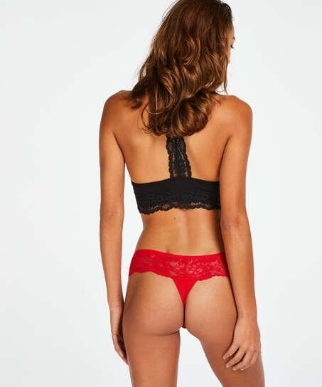 Bianca Boxer Thong, Red