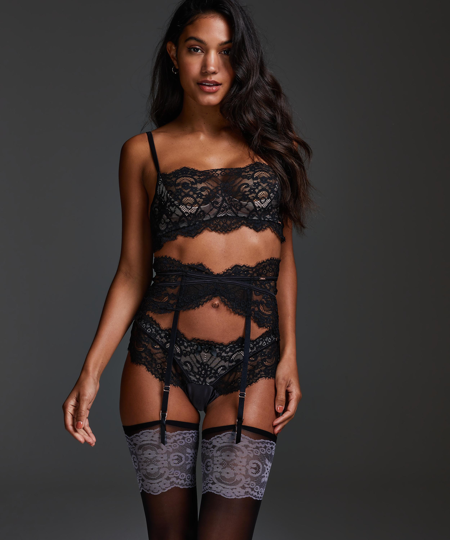 Amelia Suspenders, Black, main