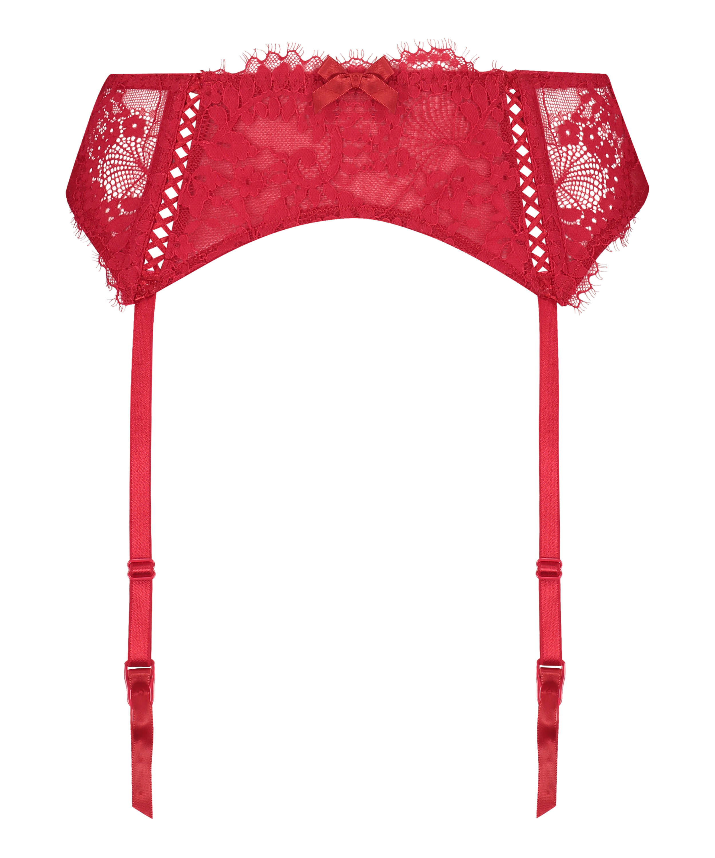 Leyla Suspenders, Red, main