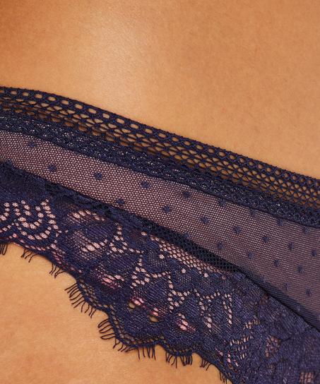 Bessie Brazilian, Blue