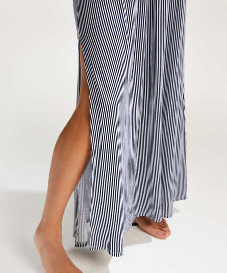 Jersey tube dress, Blue