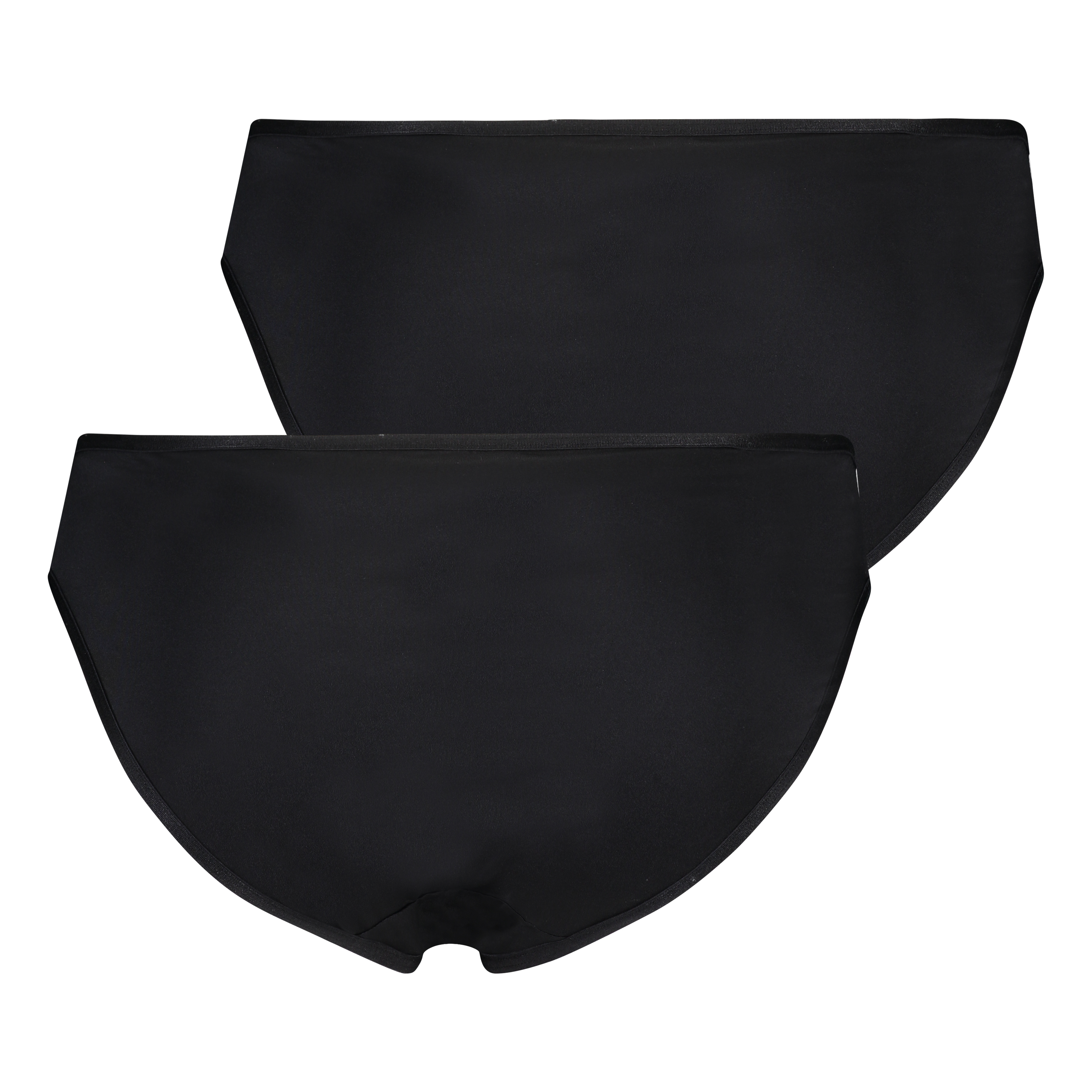 2-pack Angie Knickers, Black, main